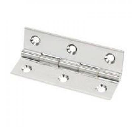 One Off Joblot Of 10 Packs Of 20 Chrome Plated Hinges With Screws