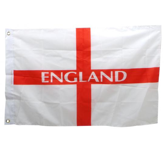 One Off Lot of 26 Large England Flags Mostly Packaged Patriotic Football