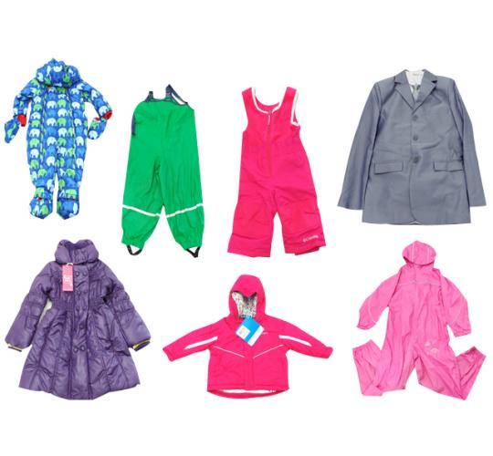 One Off Lot of 13 Assorted Childrens Coats Jackets & Romper Suits Various Styles
