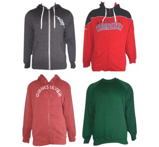 One Off Lot of 10 Hoodies and Jumpers Mens Various Brands Sizes & Styles