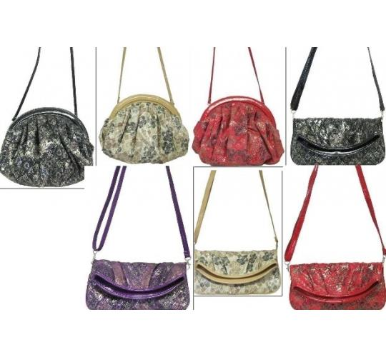Parcel of 40 mixed ladies shoulder handbags 7 styles 5132/5133