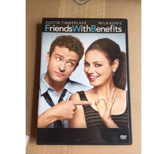 500 x Friends with Benefits DVD New