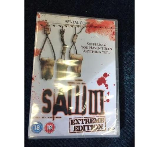 1000 x Saw 3 Extreme Edition DVD