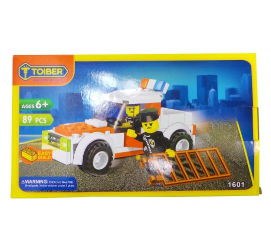 Joblot of 20 Toiber Building Brick Sets 'Police Force' Themed Childrens 1601