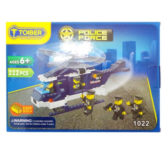Joblot of 20 Toiber Building Brick Sets 'Police Force' Themed Childrens 1022