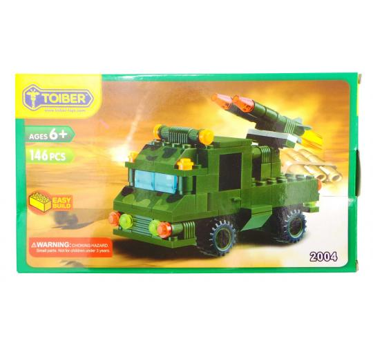 Joblot of 20 Toiber Building Brick Sets Military Vehicle Childrens 2004