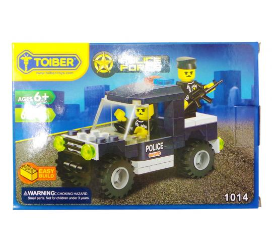 Joblot of 20 Toiber Building Brick Sets 'Police Force' Themed Childrens 1014
