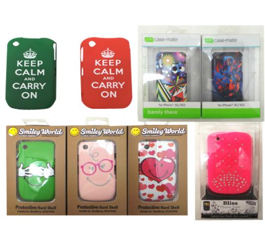 One Off Lot of 150 Assorted Mobile Phone Cases Various Designs & Models