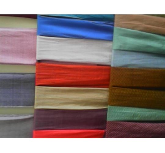 10 Cambodian handmade Cotton Scarfs - various colors / designs - approx 50cm x 140 cm