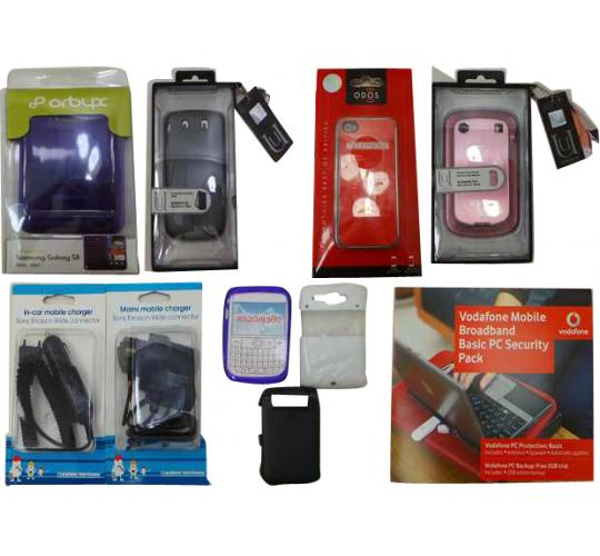 Wholesale Joblot Of 1000 Mobile Phone Cases, Chargers, Screen Savers ETC