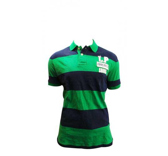 Wholesale Joblot Of 10 Mens Navy & Green Ladbrokes Poker Polo Shirts