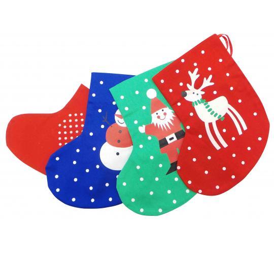 Wholesale Joblot Of 100 Festive Christmas Tree Stocking Decorations