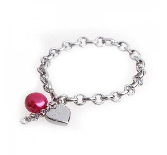 VIS Moment, 19x Fiji - Red Seashell and Heart Chain Charm, RRP: £247