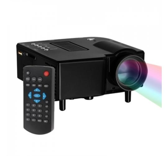 HD DIGITAL MULTIMEDIA MINI PORTABLE LED PROJECTOR WITH HDMI