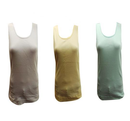 Wholesale Joblot Of 10 Ladies Oakley Ignition Plain Vest Tops Blue/White/Yellow