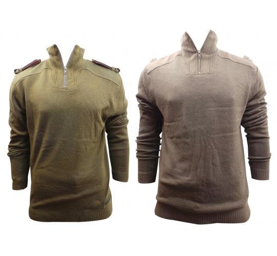 One Off Joblot Of 12 Mens Oakley Illegal Pullover Sweaters Olive/Brown