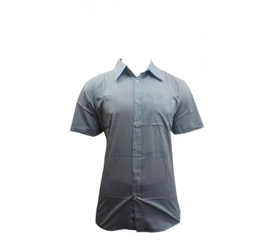 One Off Joblot Of 19 Mens Transmission Slim Fit Blue & White Striped Shirts