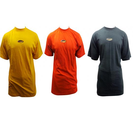One Off Joblot Of 20 Mens Plus Sized Oakley Clay Head T-shirts Assorted Colours
