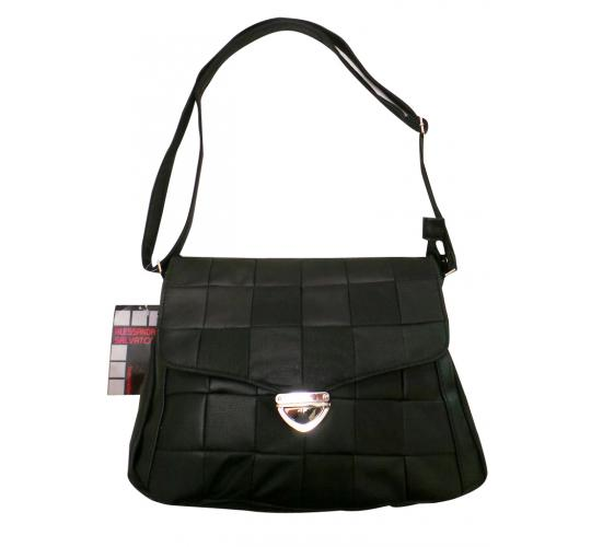 Wholesale Joblot Of 10 Black Quilted Shoulder Bags  From Alessandro Salvatore