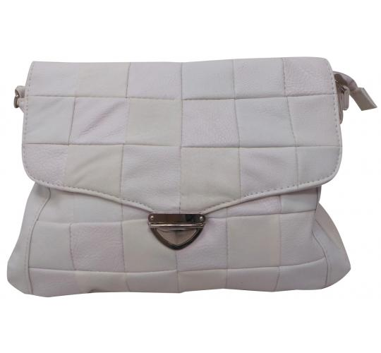 Wholesale Joblot Of 9 White Quilted Shoulder Bags From Alessandro Salvatore