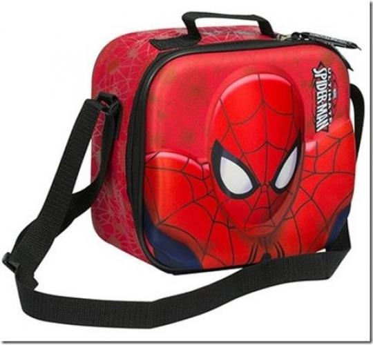 Clearance Parcel of 15 Spider Man Lunch Boxes WITH Shoulder Strap BAG827-1