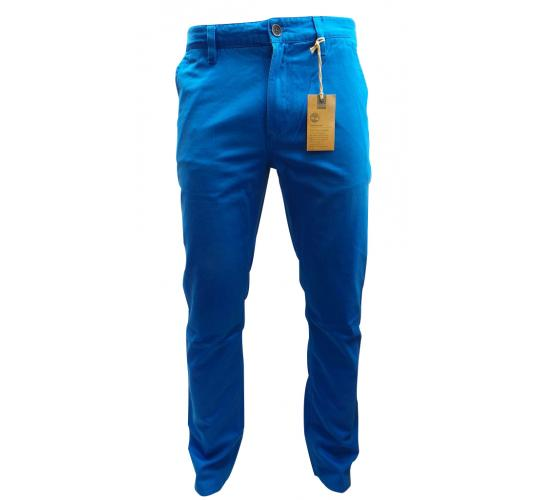 One Off Joblot Of 5 Mens Timberland Thompson Lake Slim Fit Blue Trousers