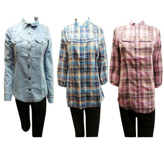 One Off Joblot of 36 Ladies Assorted Tg Shirts Mixture of Sizes 8-16