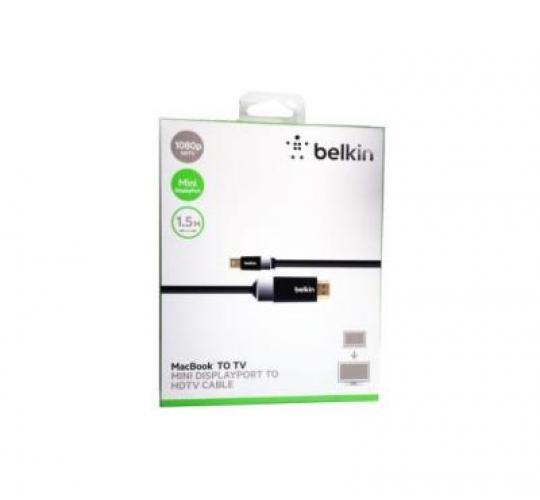 50 x Belkin MacBook To TV Mini DisplayPort TO HDTV Cable - F2CD055bf1.5M
