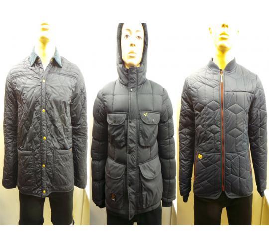 One Off Joblot of 8 Mens Mixed Coats Top Brands Puma Bench Voi 8 Styles