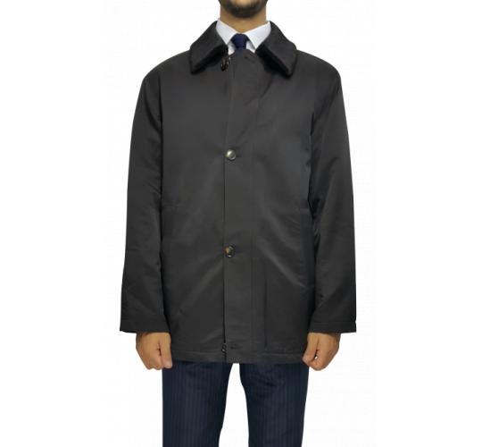 Joblot of 7 Brown Confidenza Mens Quilted Overcoat