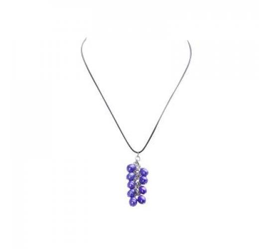 VIS Moment, 42x Fiji - Blue Freshwater Pearl, Bracelet Necklace RRP: £750
