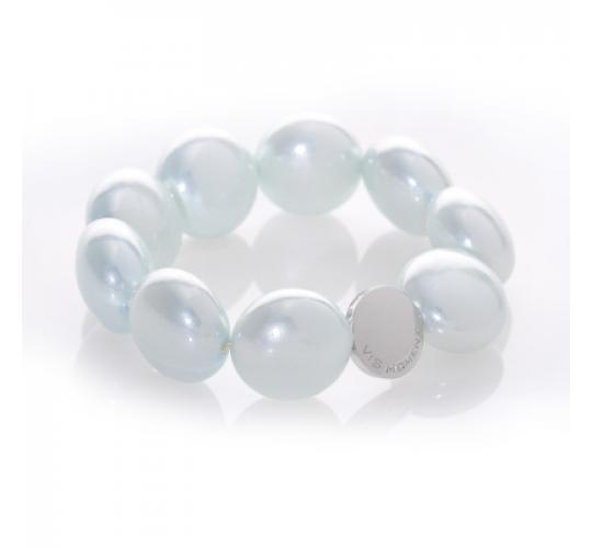 VIS Moment, Fiji - 54x Large Seashell Bracelet, RRP: £1890