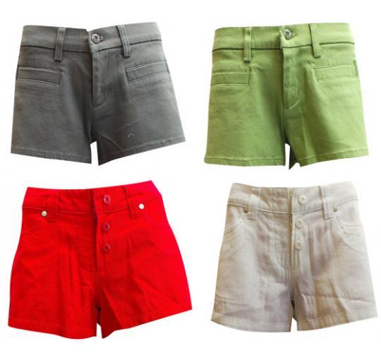 Wholesale Joblot of 11 Oakley Ladies Tease and Recline Shorts 4 Colours