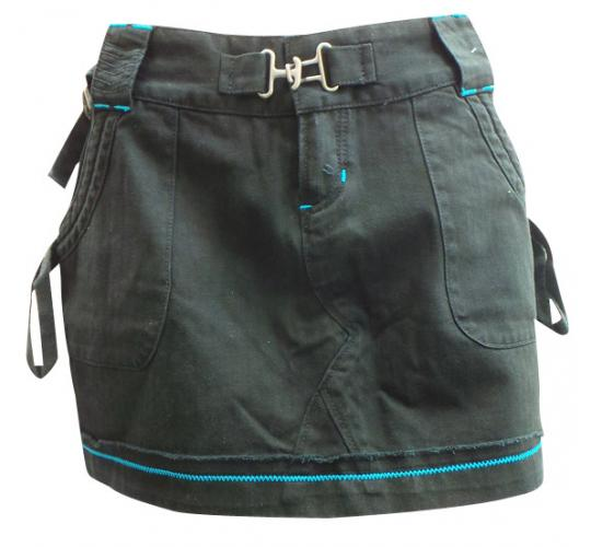 One Off Joblot of 9 Oakley Ladies Trouper Mini Skirts Black