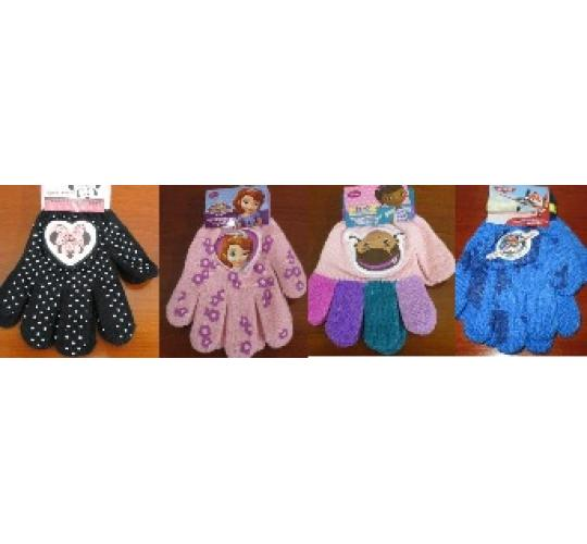 Clearance mixed parcel of 192 x Disney Boys & Girls Gloves