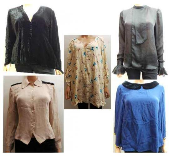 One Off Joblot Of 11 Ladies Assorted Wondaland Blouses And Tops
