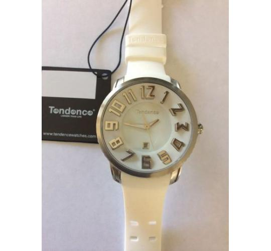 TENDENCE WHITE FASHION WATCHES X5