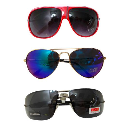 Wholesale Joblot of 50 NYS Collection Sunglasses Variety of Different Styles
