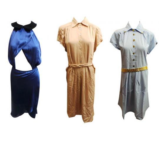 Wholesale Joblot of 10 Ladies Assorted Long Wondaland Dresses Sizes 6-12