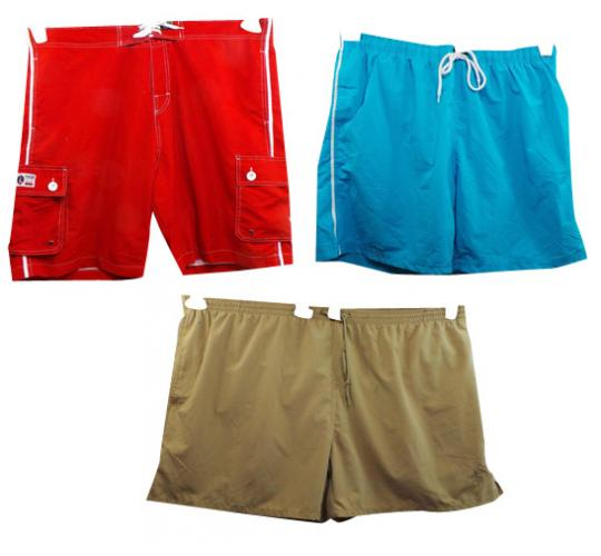Wholesale Joblot of 10 Mens Swimshorts Mostly Pegasus & D555 3XL-7XL