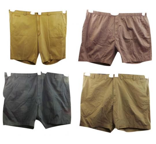 Wholesale Joblot of 10 Mens Plus Size Shorts Mainly Oakman & Pegasus