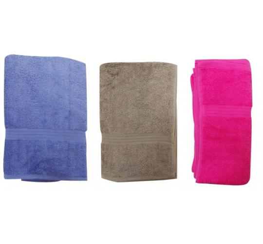 One Off Joblot of 10 100% Cotton Towels 5 Colours 2 Different Sizes