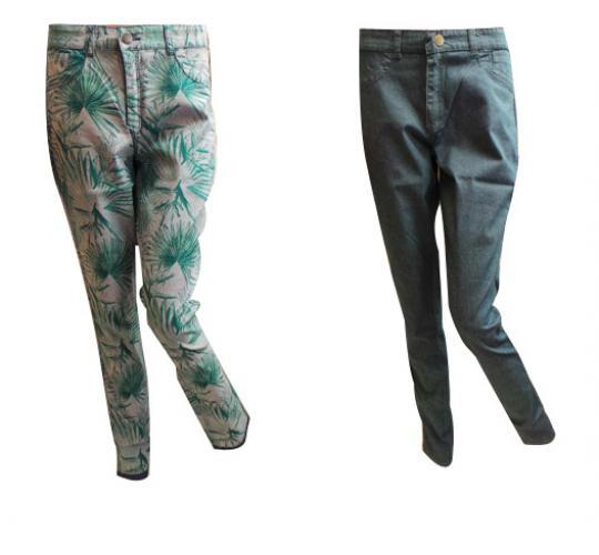 Wholesale Joblot of 10 Ladies De-Branded Reversible Trousers Sizes 6-20