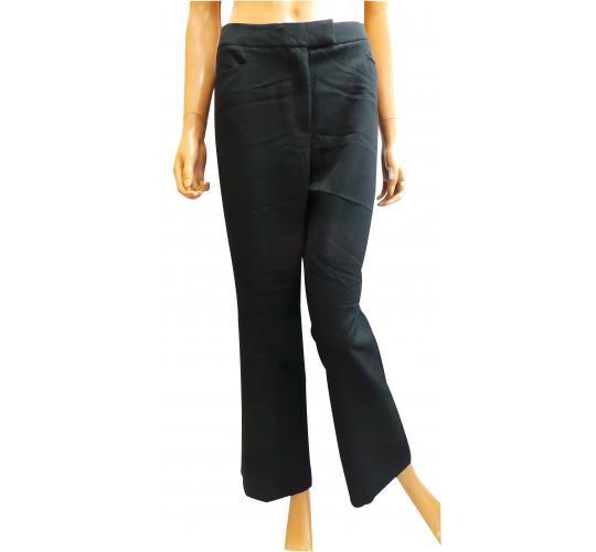 Wholesale Joblot of 10 Ladies De-Branded Black Smart Trousers 1 Pocket