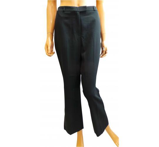 Wholesale Joblot of 10 Ladies De-Branded Black Smart Trousers 2 Pockets