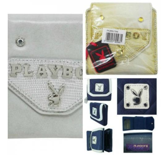 JOBLOT OF 14 PLAYBOY LADIES PURSES featuring the famous 'Rabbit Head' logo