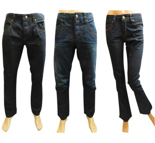 Wholesale Joblot of 20 Mens & Womens Umirta Jeans 3 Styles Sizes 26W-36W
