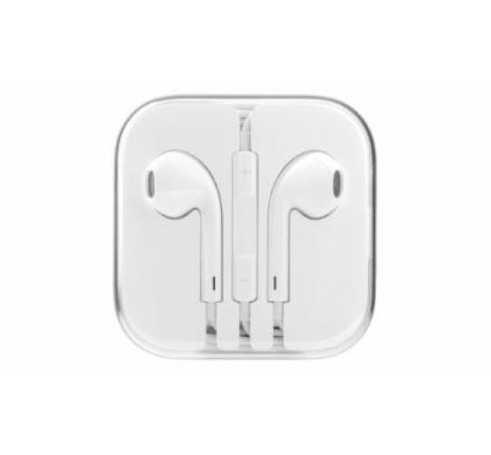 100 X NEW STYLUS EARBUD HEADPHONE WITH MIC & VOLUME CONTROL With Retail Box