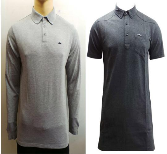 Wholesale Joblot of 10 Mens Atticus Polo Shirts Long Sleeve & Short