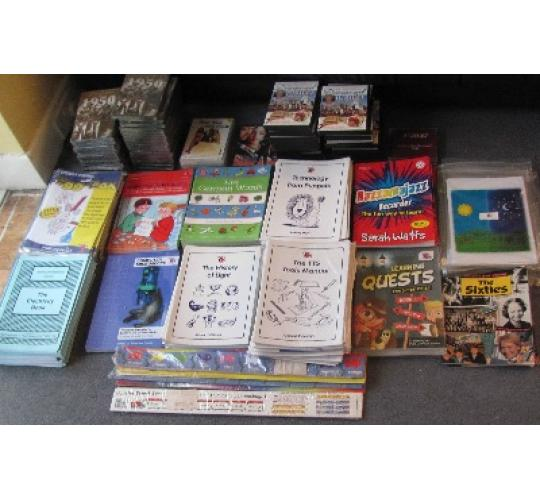 Job Lot TTS Books and media clearance for  Schools, childminders, children
